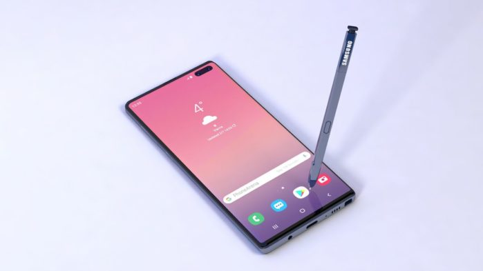 Samsung Galaxy Note 10 rumors