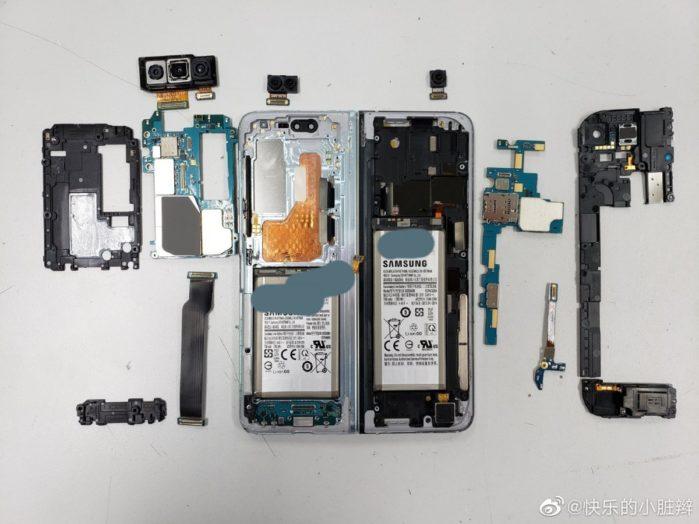 Samsung Galaxy Fold smontato: ecco come è fatto dentro