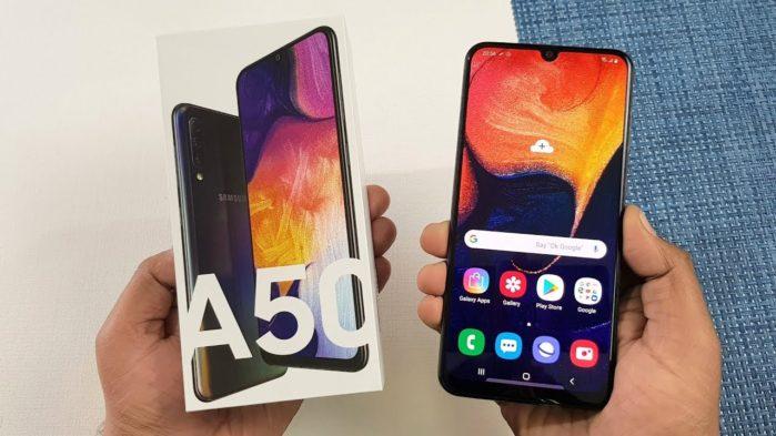 Samsung Galaxy A50 aggiornamento aprile-maggio 2019
