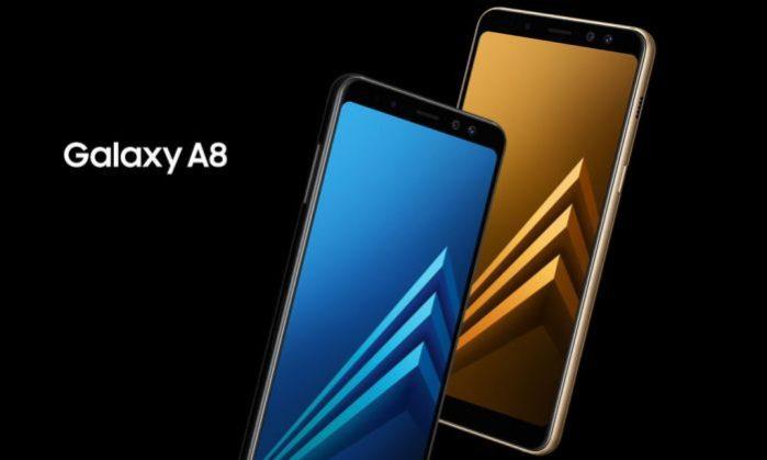 Samsung Galaxy A8 2018 aggiornamento fine aprile 2019