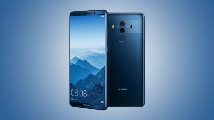 Huawei Mate 10 Pro aggiornamento inizio aprile 2019