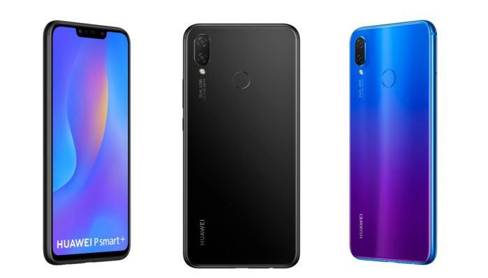 Huawei P Smart Plus aggiornamento Android Pie 9.0