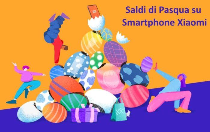 Xiaomi Mi Play, Redmi Note 7, Mi 8 Lite e Mi A2 saldi di pasqua