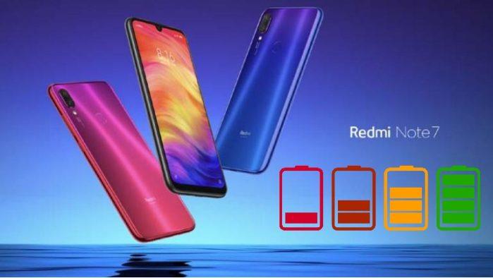 Xiaomi Redmi Note 7 autonomia bateria