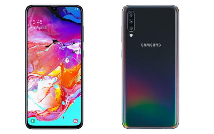 Samsung Galaxy A70 in Italia: prezzo ufficiale