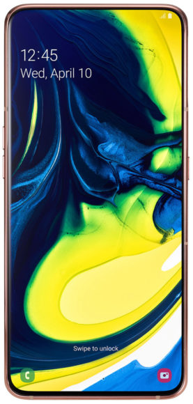 Galaxy A80 new infinity display