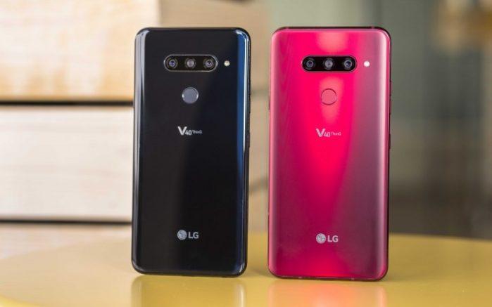 LG V30, V35 e V40 ThinQ aggiornamenti Android Pie 9.0