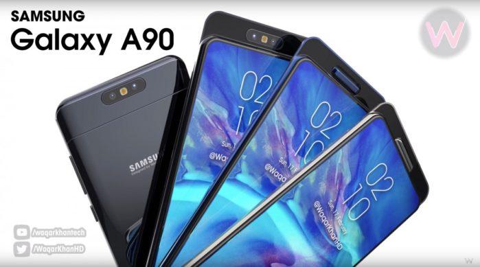 Galaxy A90 le presunte caratteristiche hardware principali