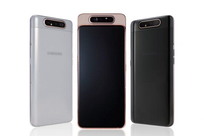 Galaxy A80 Colori