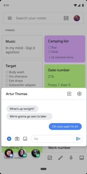 Android Q beta 2 novità bubble notifications