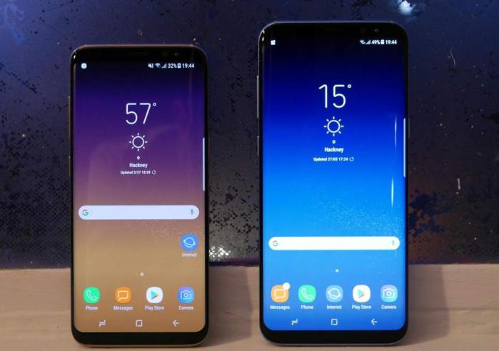 Galaxy S8 e Galaxy S8 Plus aggiornamento