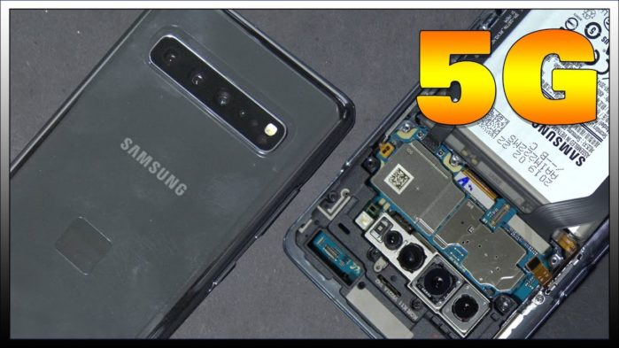 Galaxy S10 5G disassemblaggio in video