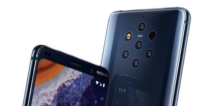 Nokia 9 Pureview aggiornamento aprile 2019