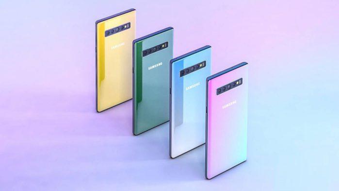 Samsung Galaxy Note 10 in quattro varianti?