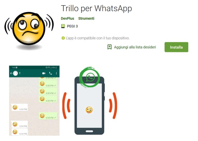 WhatsApp trillo