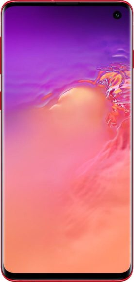 Galaxy S10 Red front