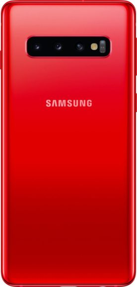 Galaxy S10 Red Back