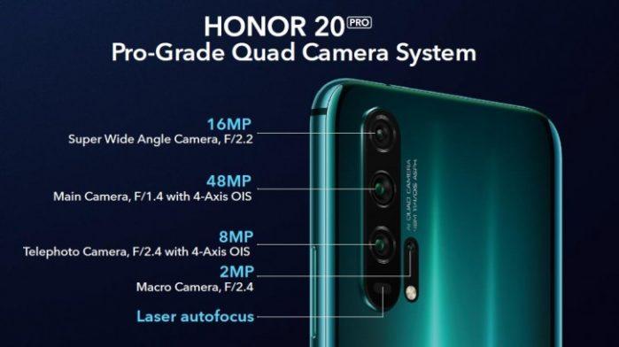 Honor 20 e 20 Pro ufficiale