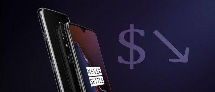 OnePlus 6T prezzo in calo con OnePlus 7