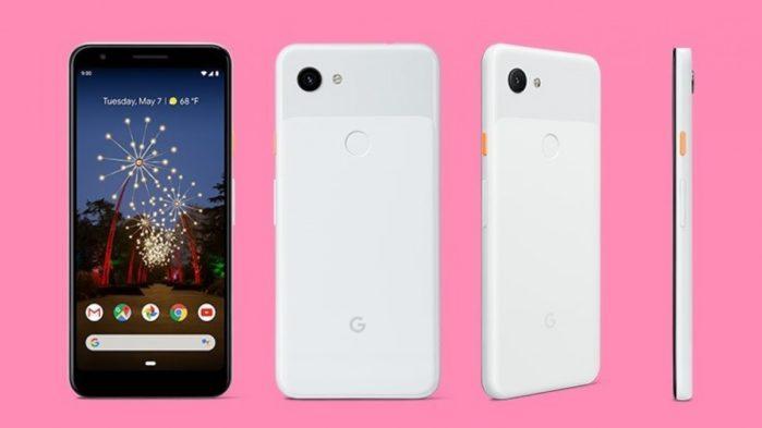 Pixel 3a bianco