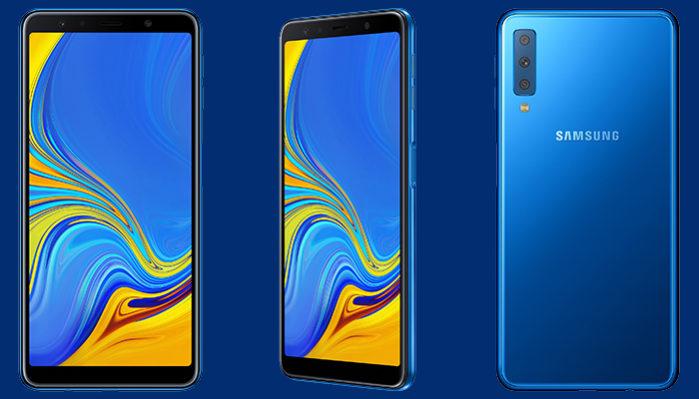 Galaxy A7 2018 aggiornamento maggio 2019