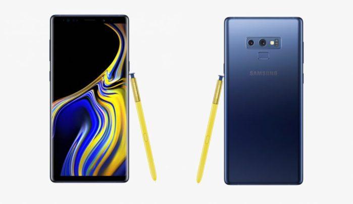 Galaxy Note 9 nuovo firmware maggio 2019