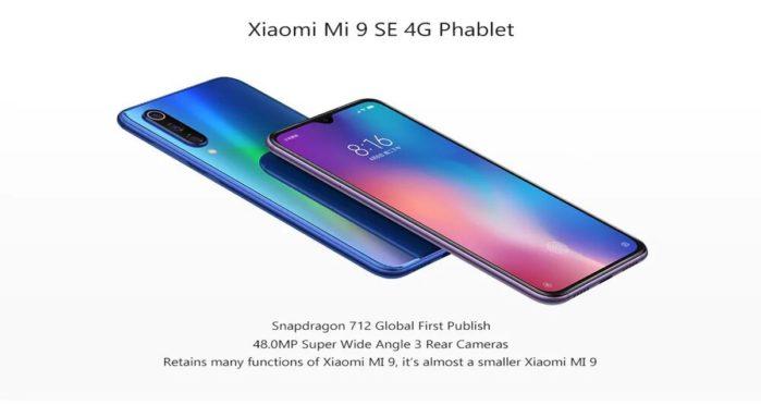 Xiaomi Mi 9 SE BLu a 309 euro 6+128GB in offerta lampo