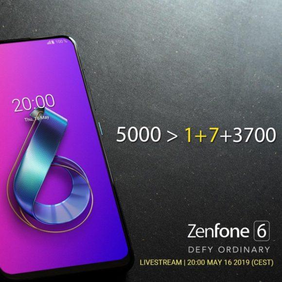 Zenfone 6 avrà una batteria da 5000 mAh