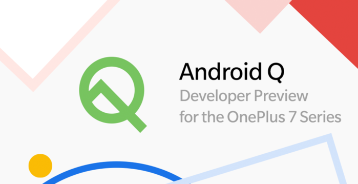 OnePlus 7 e 7 Pro download Android Q beta