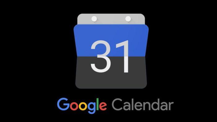 Calendario Google modalità scura