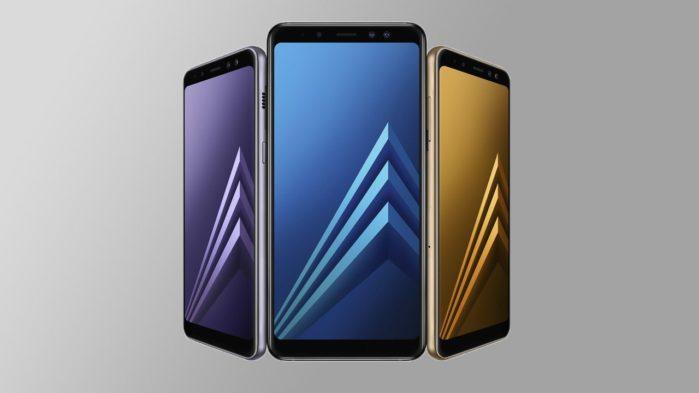 Galaxy A8 2018 aggiornamento maggio 2019
