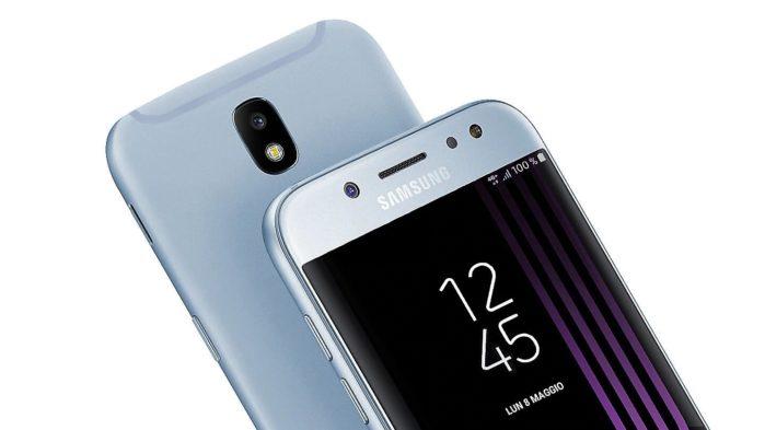 Galaxy J7 2017 aggiornamento maggio 2019