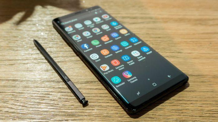 Galaxy Note 8 aggiornamento giugno 2019