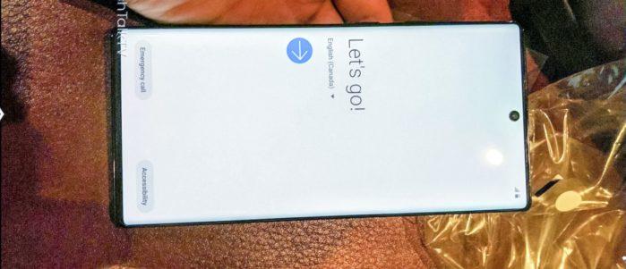 Galaxy Note10 Pro prenderà il nome di Note10+