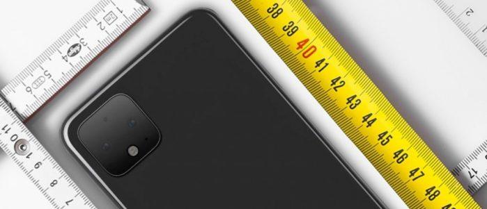 Google Pixel 4 dimensioni e display: i rumors