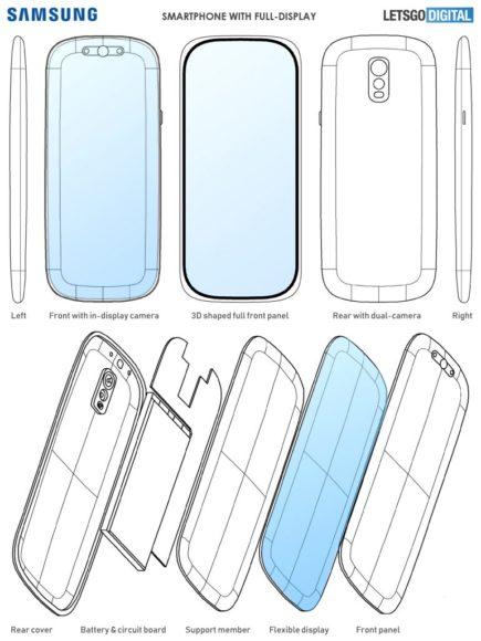 Brevetti design Samsung