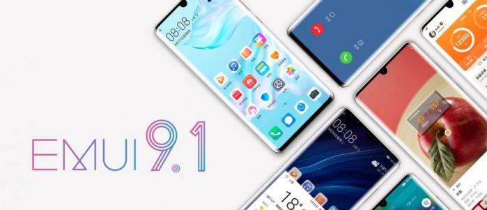 Smartphone Honor Emui 9.1 road-map aggiornamento