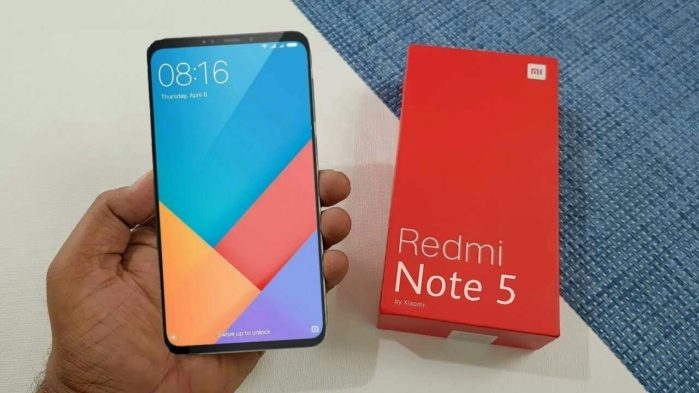 Xiaomi Redmi Note 5 Android Pie 9.0