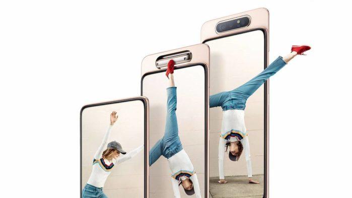 Samsung Galaxy A80 aggiornamento patch luglio 2019