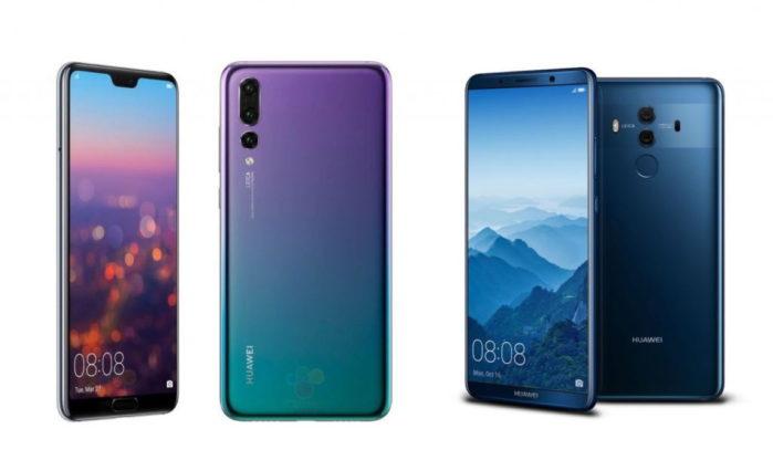 Huawei Mate 10 e Huawei P20 EMUI 9.1 in Cina