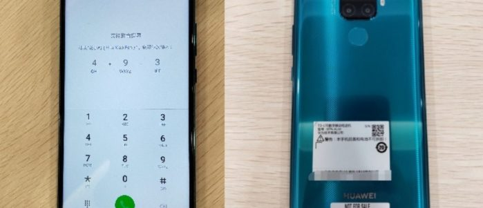 Huawei Mate 30 Lite, il dopo Mate 20 lite, immagini dal vivo