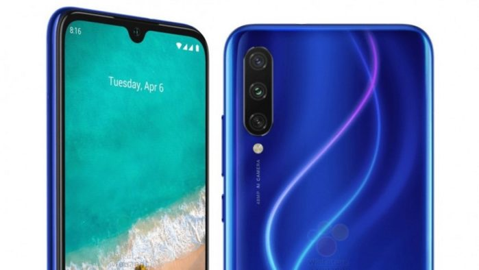 Xiaomi Mi A3 specifiche e design svelato?
