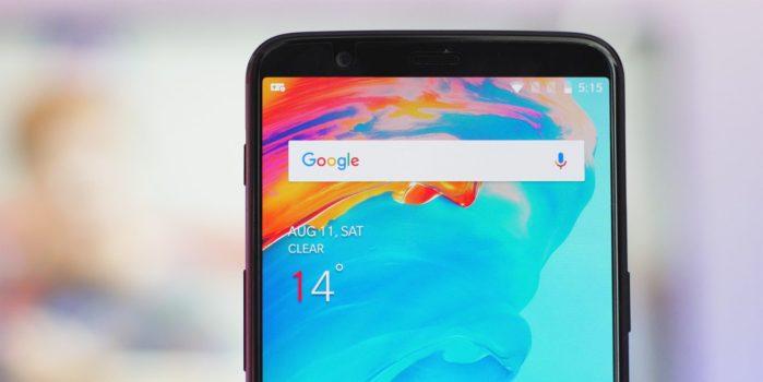 OnePlus 5 e 5T aggiornamento OxgenOS 9.0.7