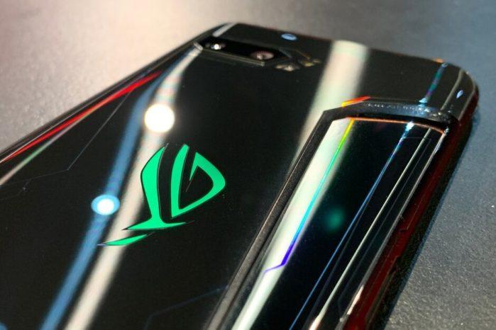 Asus Rog Phone 2 design scocca