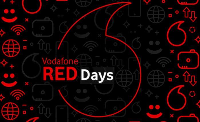 Vodafone Red Days Luglio 2019