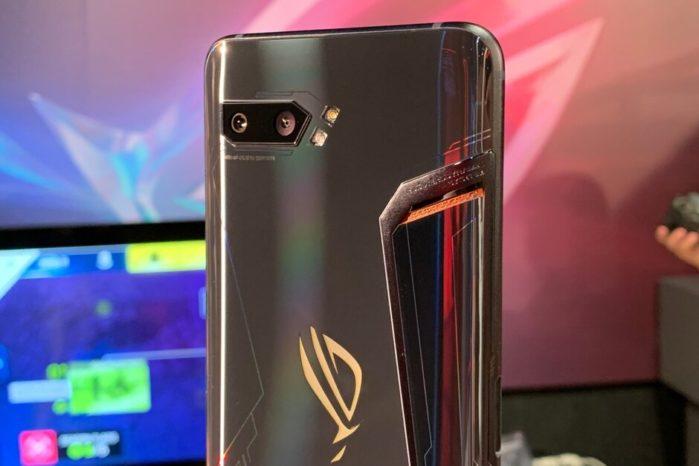 Asus Rog Phone 2 design camera