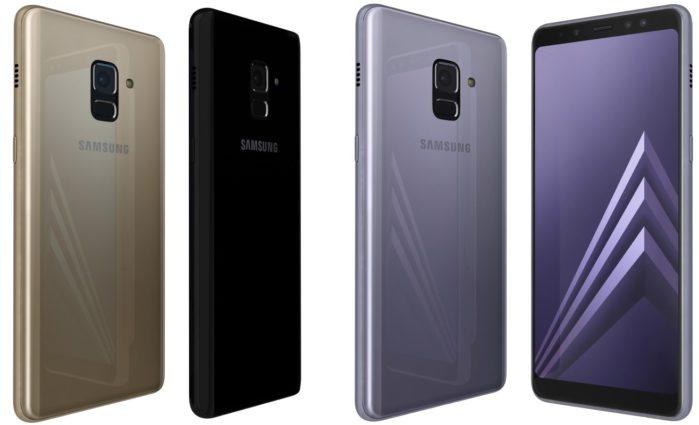 Galaxy A8 2018 aggiornamento fine luglio 2019