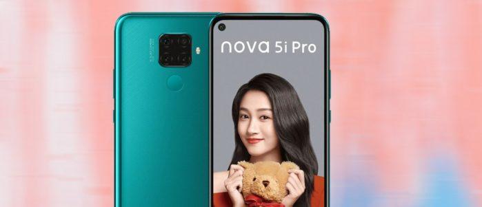 Huawei Mate 30 Lite nome Nova 5i Pro in Cina