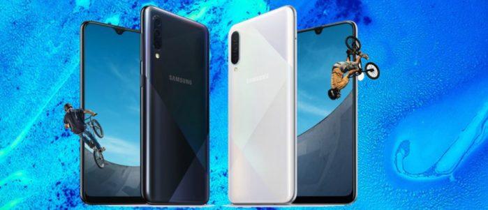 Samsung Galaxy A50S e Galaxy A30S ufficiali