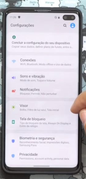 Android 10 privacy Galaxy S10 Plus